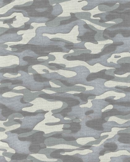 5747 CAMO DUE in polar texture Fortuny Printed Cottons
