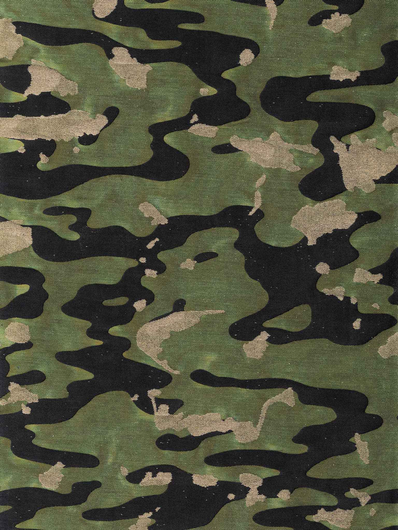 CAMO ISOLE in army - Fortuny