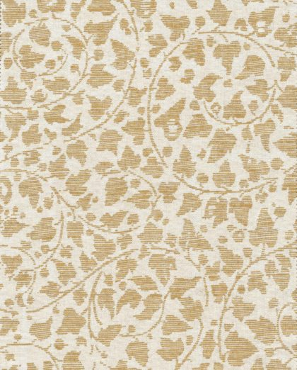 5749 CATALANO in bone & gold texture Fortuny Printed Cottons