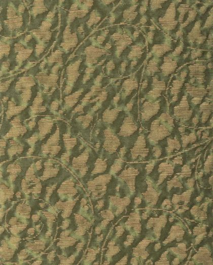 5750 CATALANO in army green & gold Fortuny Printed Cottons