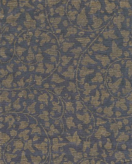 5751 CATALANO in dark blue & gold texture Fortuny Printed Cottons