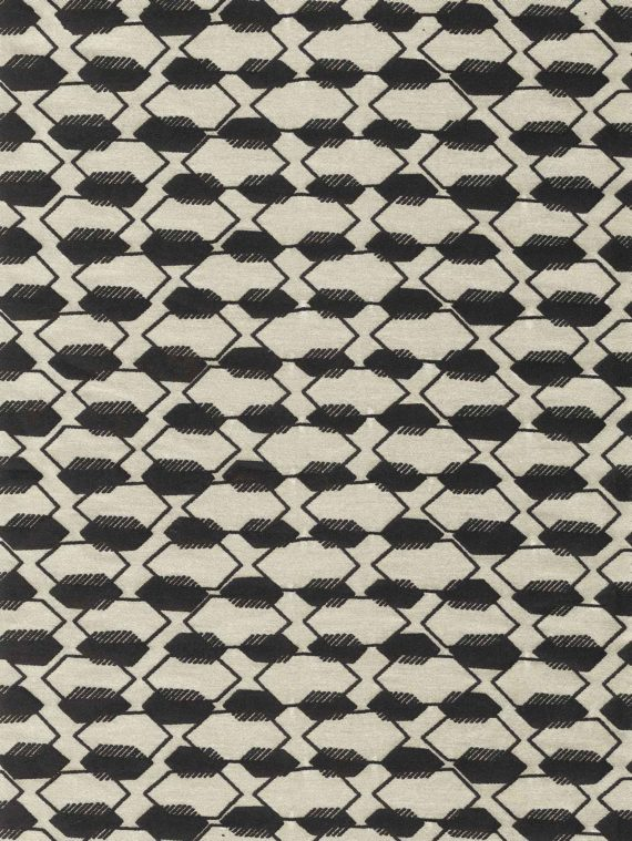 5754 DISSOLVENZA in ecru & black Fortuny Printed Cottons