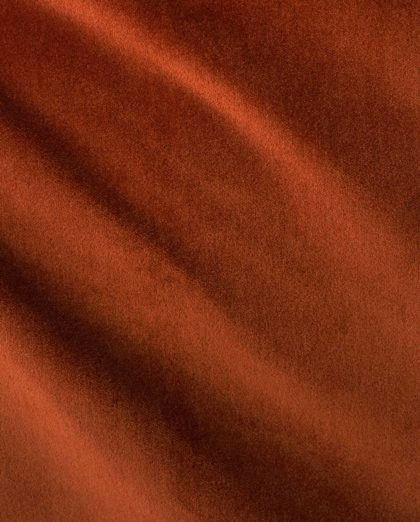 FF-20311 LEGATO in burnt orange Fortuny Velvet