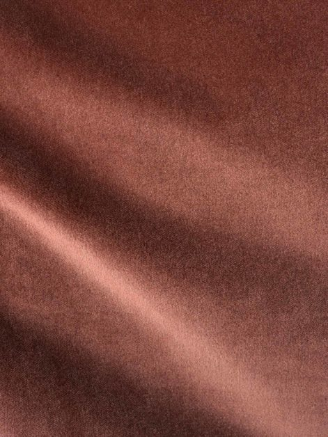 FF-20313 LEGATO in cinammon rose Fortuny Velvet