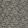 5773 SIMBOLI in black & silvery gold texture Fortuny Printed Cottons