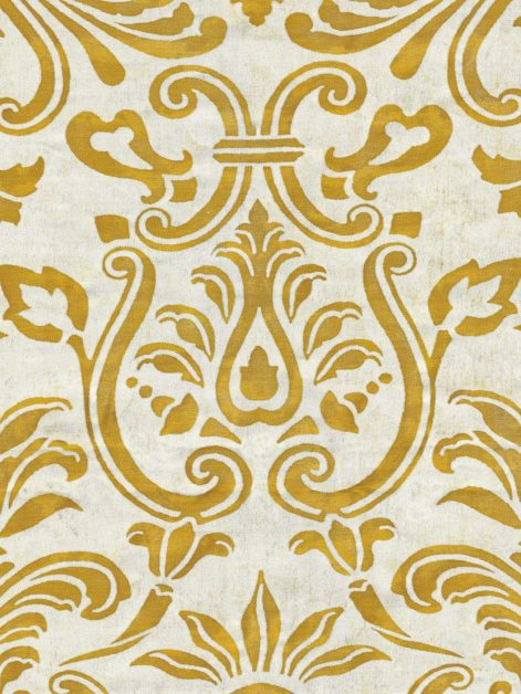 5800 MARMORINO in siena & pale grey Fortuny Printed Cottons