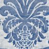 5806 NAVATA in lapislazzulo & pale_grey Fortuny Printed Cottons