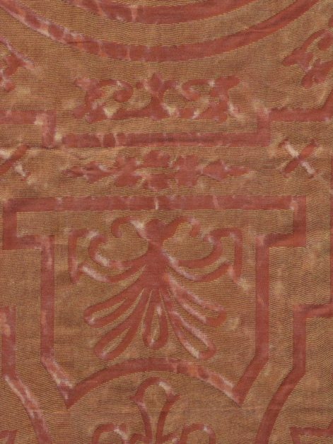 5811 ALTARE in fior di pesco & copper Fortuny Printed Cottons
