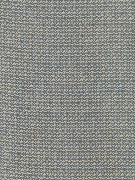 5818 MICRO-CAMPANELLE in blue-grey & silvery gold Fortuny Printed Cottons