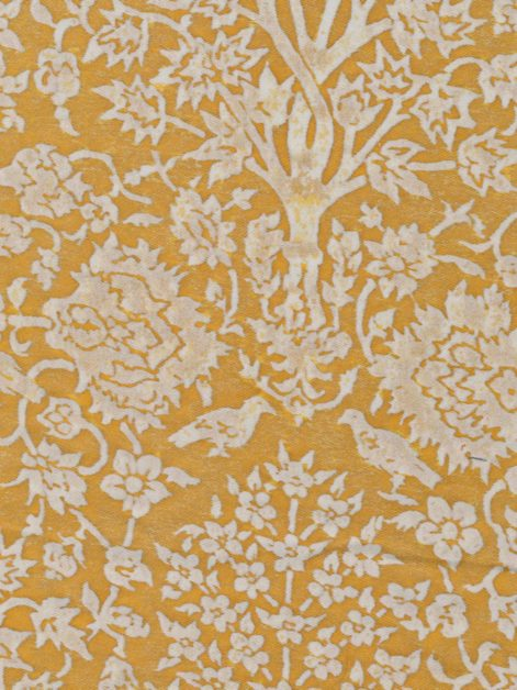 5420 ALBERELLI in yellow & white Fortuny Printed Cottons