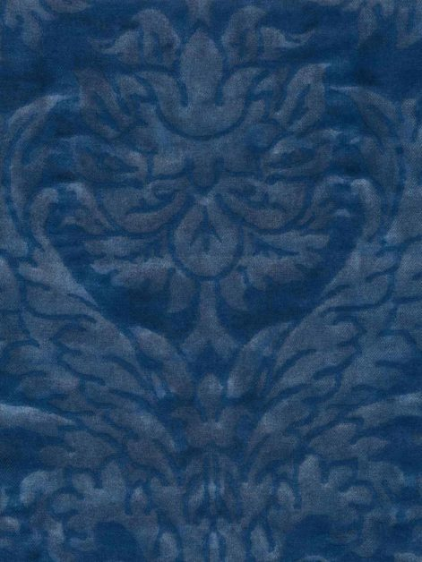 5700 BARBERINI in navy monotones texture Fortuny Printed Cottons