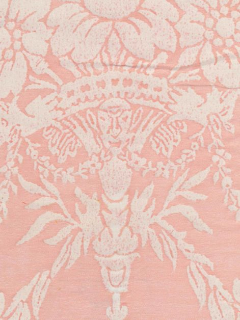 5339 BOUCHER in melon & white Fortuny Printed Cottons