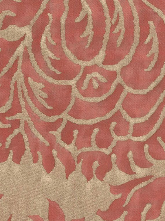 5292 BARBERINI in brilliant red & gold Fortuny Printed Cottons