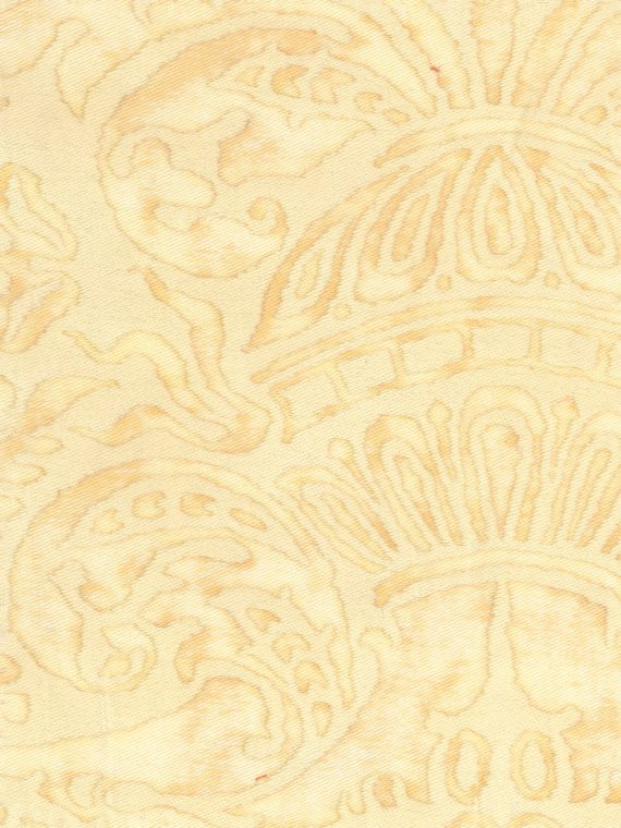 5168 CAMPANELLE in straw & off-white Fortuny Printed Cottons