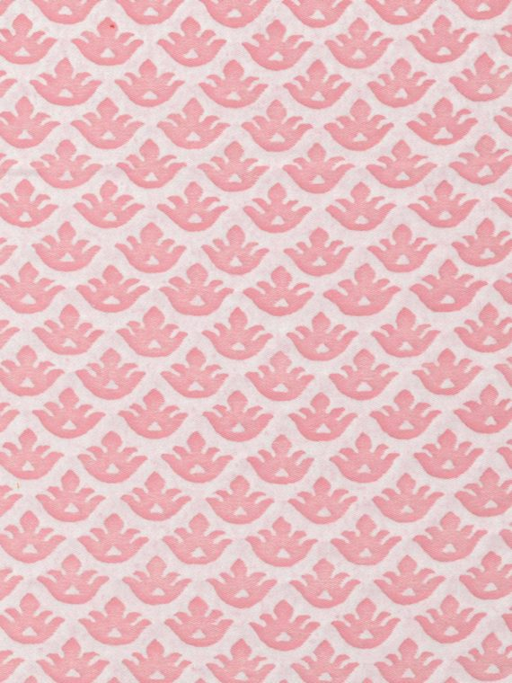 5602 CANESTRELLI in powder pink & white Fortuny Printed Cottons