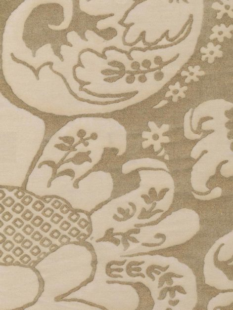 5121 CARAVAGGIO in ivory & gold Fortuny Printed Cottons