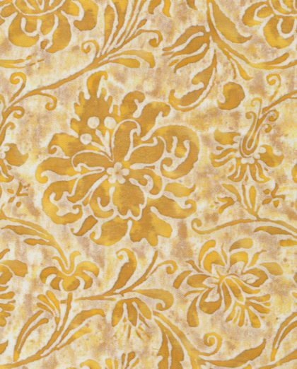5297 CIMAROSA in yellow & white Fortuny Printed Cottons