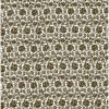 brown & silvery gold Fortuny Printed Cottons