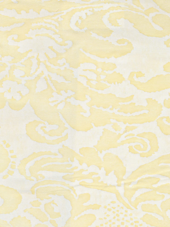 5215 CORONE in straw & off-white Fortuny Printed Cottons