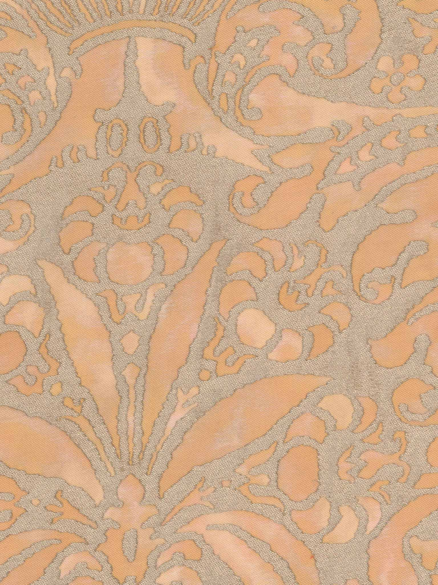 Campanelle in apricot monotones silvery gold fortuny 5374 campanelle in apricot monotones silvery gold fortuny printed cottons sisterspd