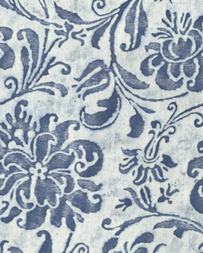 5195 CIMAROSA in blue & white Fortuny Printed Cottons