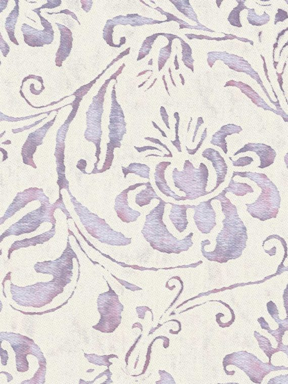 5662 CIMAROSA in lilac & white Fortuny Printed Cottons