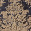 5703 DANDOLO in midnight blue & silvery gold Fortuny Printed Cottons