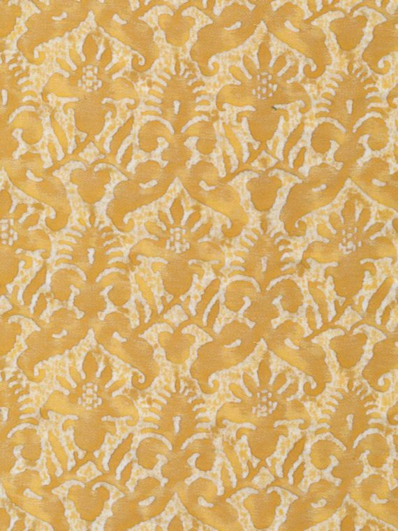 5308 DELFINO in yellow & white Fortuny Printed Cottons