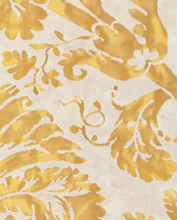 5067 DEMEDICI in yellow & white Fortuny Printed Cottons