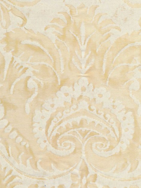 5218 DEMEDICI in straw & off-white Fortuny Printed Cottons