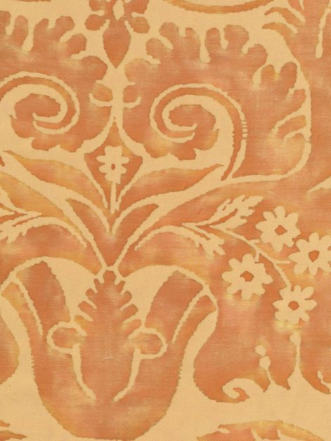 5300 DEMEDICI in apricot monotones Fortuny Printed Cottons