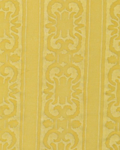 5326 FARNESE Frieze in citron monotones Fortuny Printed Cottons