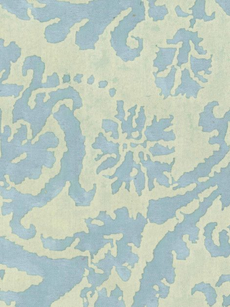 5349 FARNESE in blue & antique white Fortuny Printed Cottons