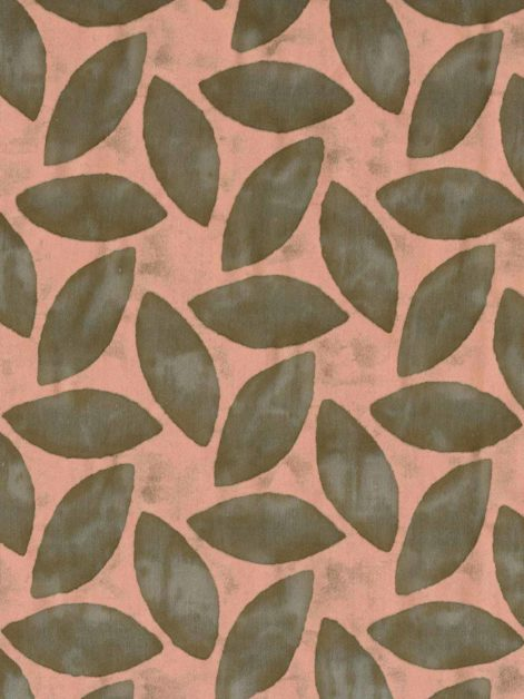 5707 GIRANDOLE in truffle & antique rose Fortuny Printed Cottons