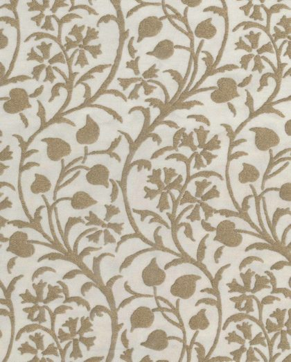 5036 GRANADA in white & gold Fortuny Printed Cottons