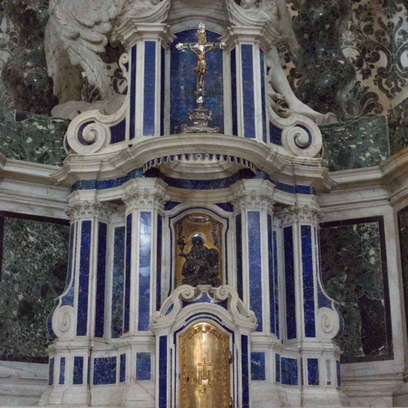 Lapislazzulo Altar in the Gesuiti Church - Fortuny - Sectile 1729 Collection