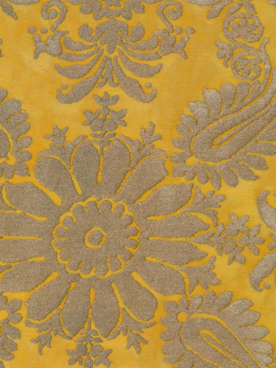 5077 IMPERO in yellow & gold Fortuny Printed Cottons