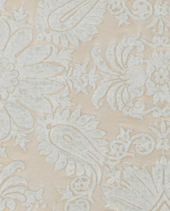 5370 IMPERO in moonlight & white Fortuny Printed Cottons