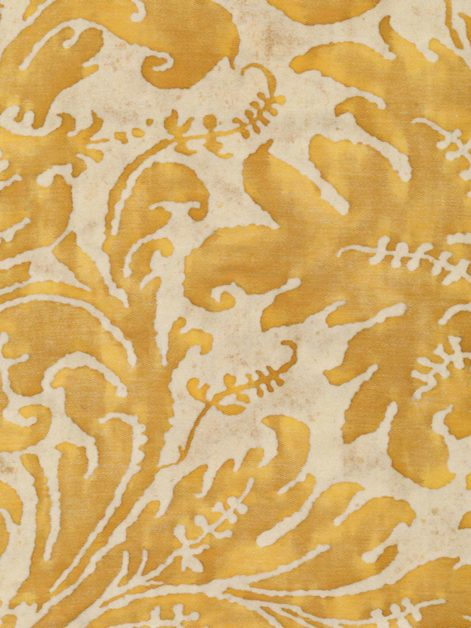 5310 LUCREZIA in yellow & white Fortuny Printed Cottons