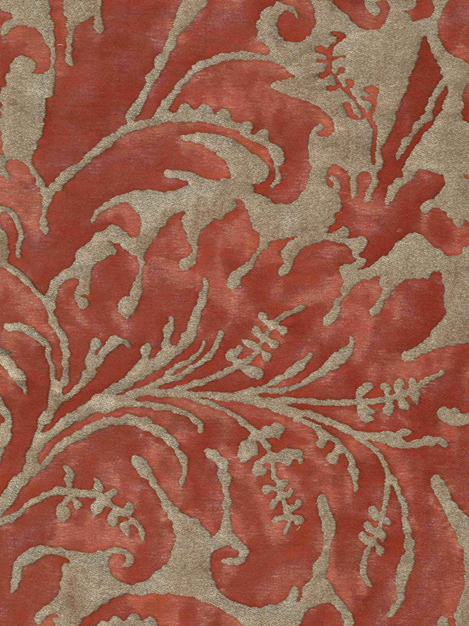 Lucrezia in bittersweet silvery gold fortuny 5395 lucrezia in bittersweet silvery gold fortuny printed cottons sisterspd