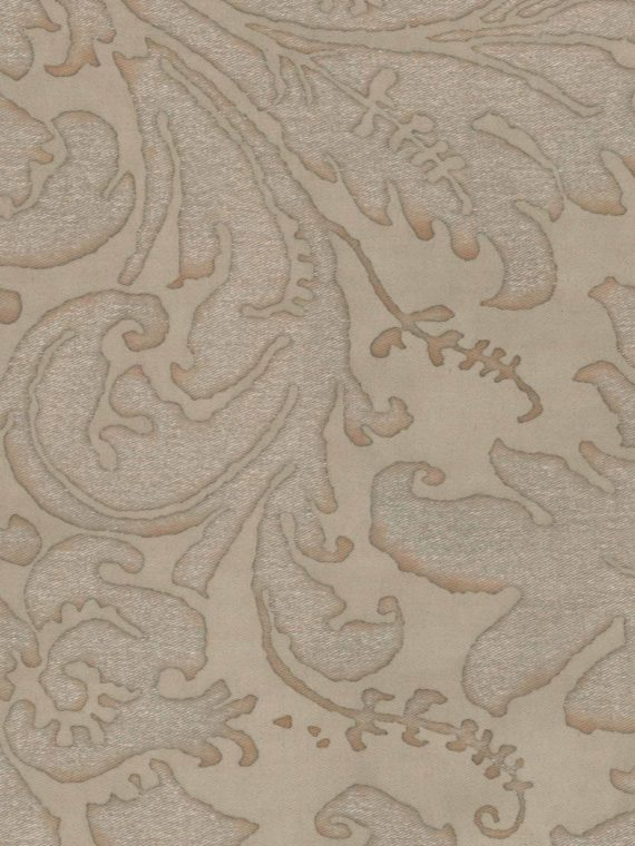 5284 LUCREZIA in driftwood monotones Fortuny Printed Cottons