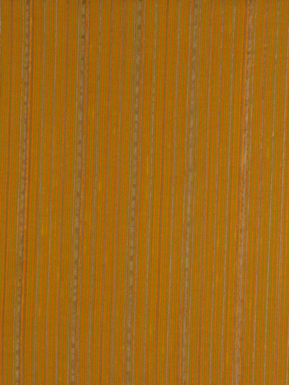 5646 MALMAISON in lime green & gold stripes on mandarin Fortuny Printed Cottons