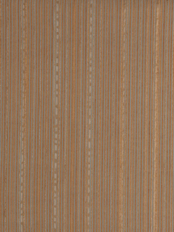 5649 MALMAISON in blue & gold stripes on rembrandt rust Fortuny Printed Cottons