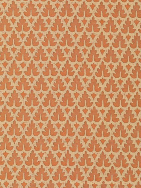 5523 MURILLO in apricot monotones Fortuny Printed Cottons