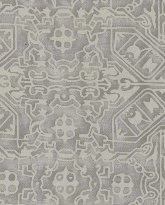 5710 MORESCO in platinum monotones Fortuny Printed Cottons