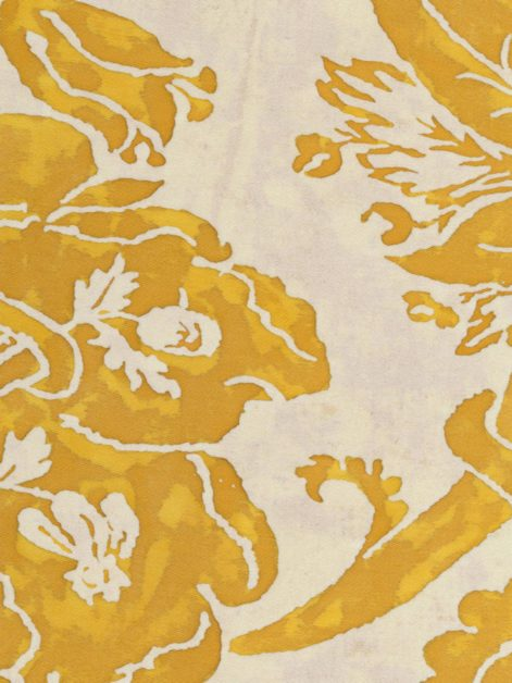 5154 OLIMPIA in yellow & white Fortuny Printed Cottons