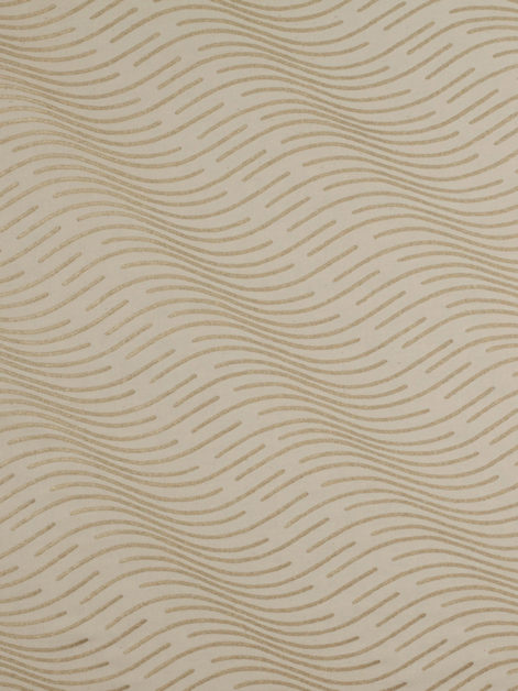 5676 ONDE in ivory & gold Fortuny Printed Cottons