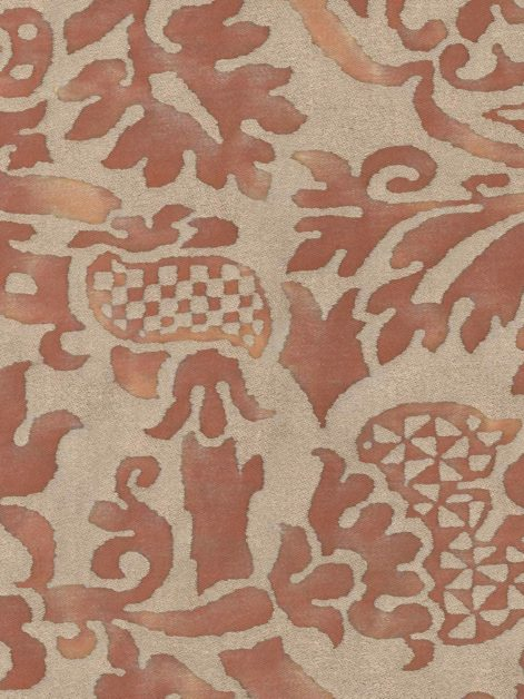 5306 ORSINI in rust & gold Fortuny Printed Cottons