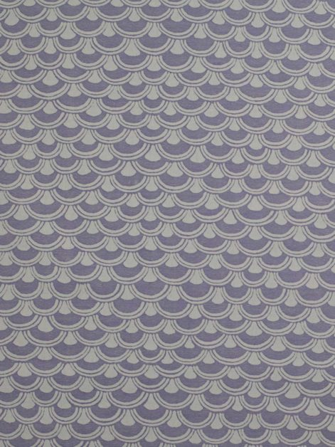 5681 PAPIRO in lavender & white Fortuny Printed Cottons