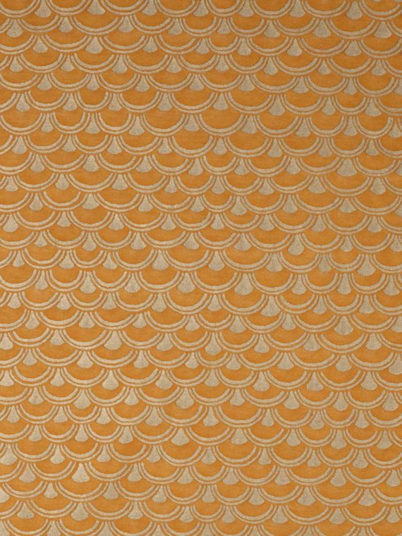 5683 PAPIRO in marmalade & gold Fortuny Printed Cottons